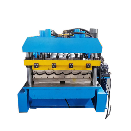 Automatic Color Steel Glazed Tile Roll Forming Machine