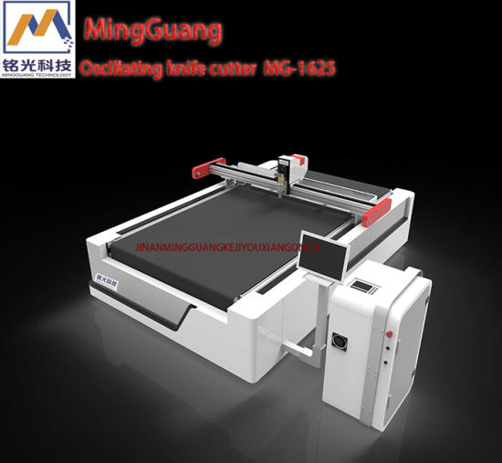 1325 Oscillating Knife Cutting Machine for Textile\Fabric\Cloth\Leather\Paper\ Carton Box with Ce