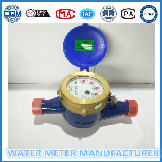 Domestic Water Meters Complete with Connectors pictures & photos