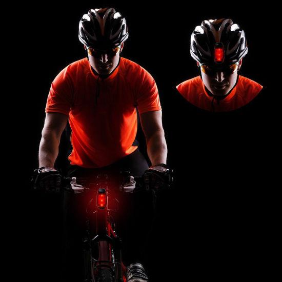 3 LED Clip On Running Bike Rear Safety Warning Tail Light Flashing Cycling Lamp