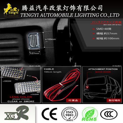LED Car Luggage Baggage Truck Light Auto Interior Lamp for Toyota Alphard pictures & photos