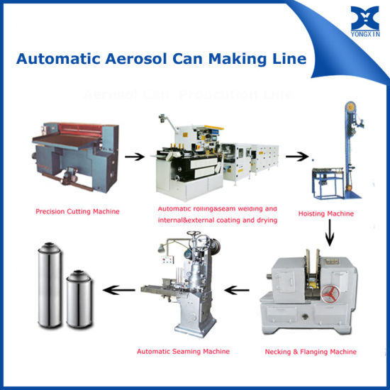 Aerosol Spray Paint Can Making Machine Equipment Production Line pictures & photos