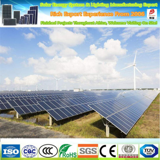 25 Years Warranty A Grade 360W High Efficient Solar Panel for Solar Energy Systems
