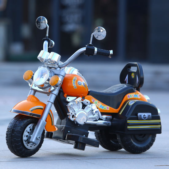 New Model Fashion Baby Electric Motorcycle with 2 Motors