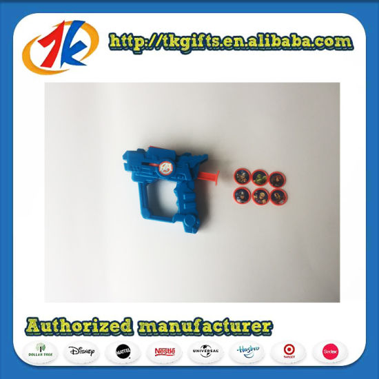 Wholesale Plastic Launcher Gun Toy Game Toy for Kids