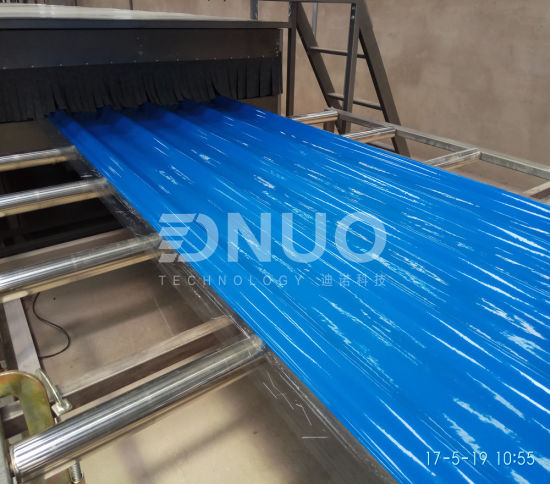 Fiberglass FRP Translucent Roof Panel Corrugated Sheet Making Machine
