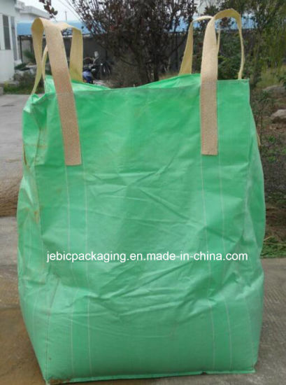 Green Fabric Cross Corner FIBC Bulk Bag pictures & photos