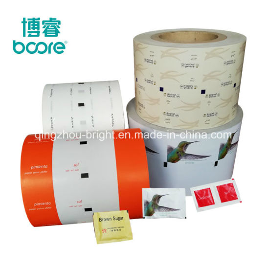 Anti-Moisture Packaging Material PE Coated Paper for Coffee Sugar Stick