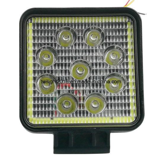 2018 Newly Square LED Fog Light with Light Ring, Car LED Fog Lighting, Auto LED Fog Light, Fog Lamp Twi-FL-75