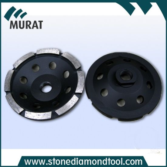 115mm Diamond Welded Single Row Cup Grinding Wheel Tool
