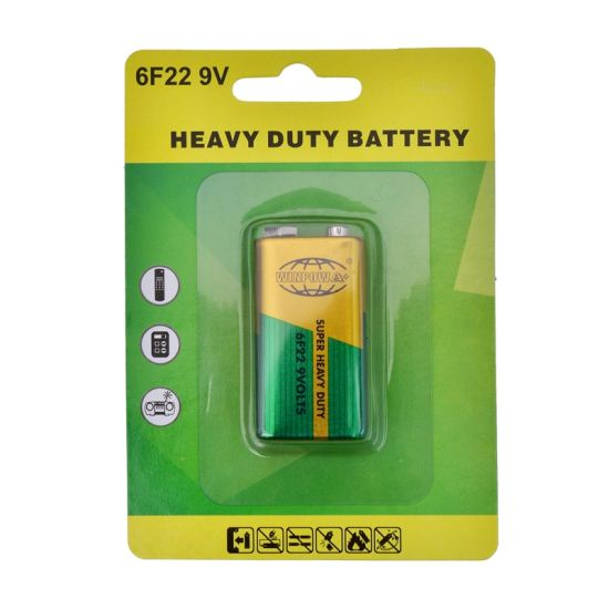 1222 Code Equivalent 9V Battery 6f22 pictures & photos