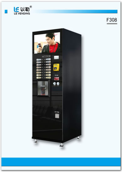 Bean to Cup Coffee Vending Machine for Sale (F308)