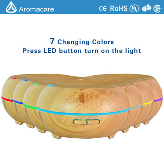 200ml Wood Grain Ultrasonic Humidifier (TA-039) pictures & photos