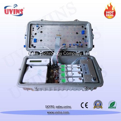 Optical Node AGC CATV Outdoor Receiver Workstation with Return Path