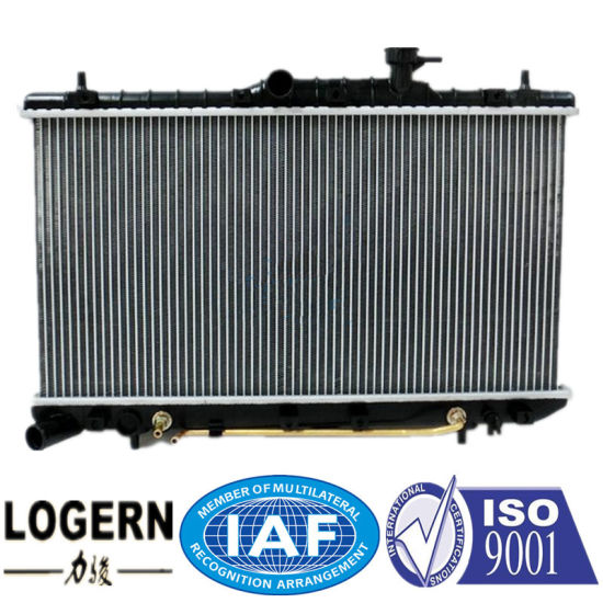 China Auto Aluminum Radiator For Hyundai Accent99 02 At Dpi 2338