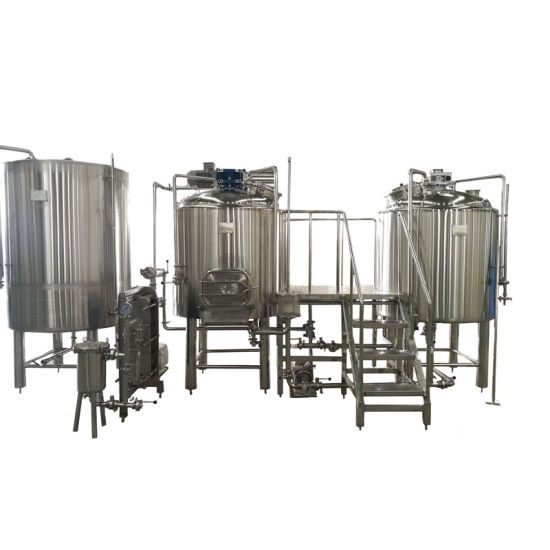 Steam Jacket Beer Making Brewery Machinery 15bbl Micro Brewing Equipment pictures & photos