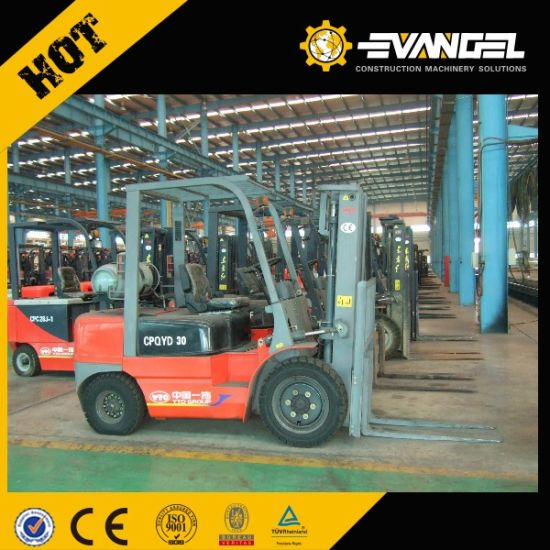 Yto Mini 1.5 Ton Battery Electric Forklift Truck Cpd15 pictures & photos