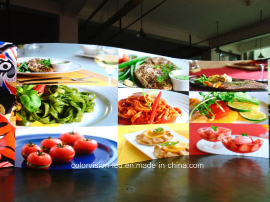 Exterior P5 P6 Pitch Curved LED Display Screen for Advertising