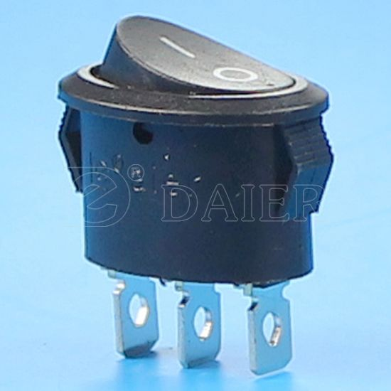 on-on R11 250V T125 Oval Rocker Switch pictures & photos