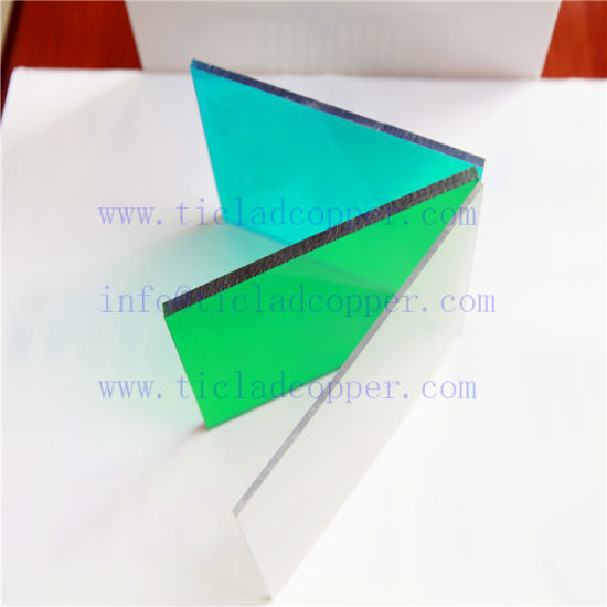China Colored Customized Polycarbonate Solid Sheet/PC Solid Sheet ...