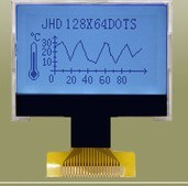 Blue Background Graphic LCD Module with 240X128 Dots pictures & photos