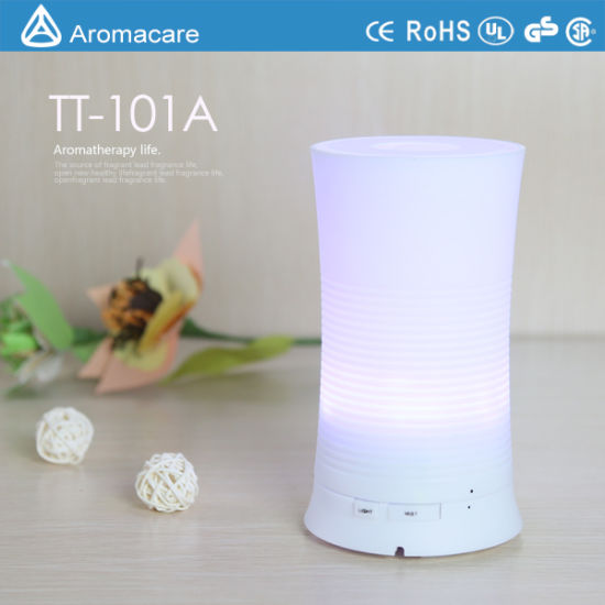 Colorful LED 100ml Ultrasonic Humidifier Piezoelectric Transducer (TT-101A) pictures & photos