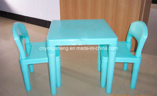 Plastic table with Plastic Stool Mould (YS11) pictures & photos