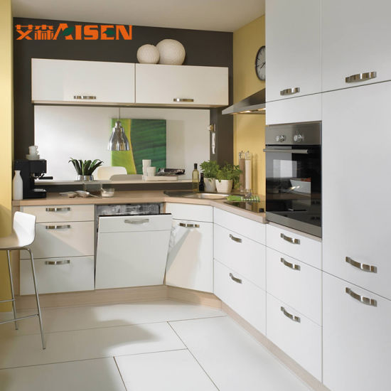 Exclusive Custom Design Lacquer Wall Cabinet Small Kitchen Set
