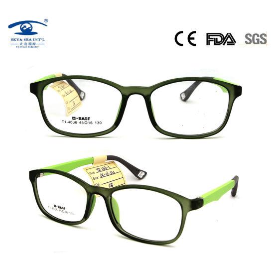 9192a0ebf09 Oval Eyewear Soft Comfortable Silicone Eyeglasses Frame Kids Optical Frames  Baby Eye Glasses (TR1313)