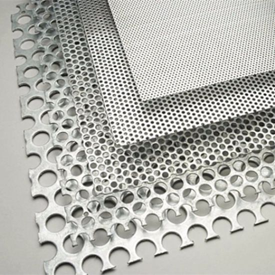 China Good Quality Round Hole Perforated Mesh Sheet Metal for Garden ...