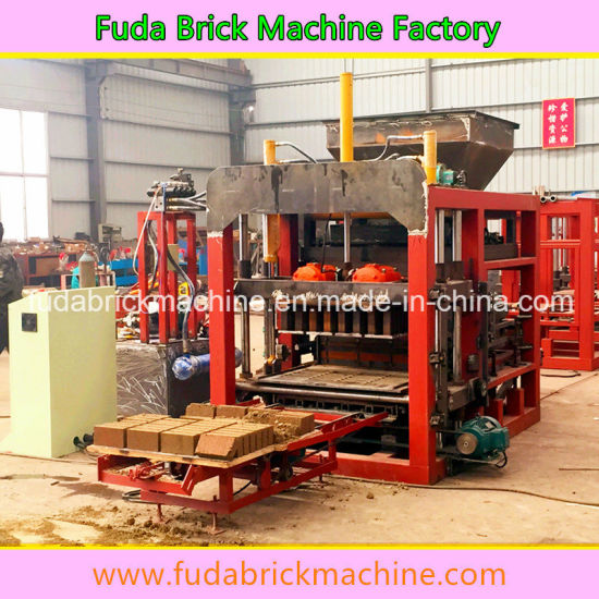 Qt4-20 Complete Hydraulic Full Automatic Brick Production Line, Block Machine pictures & photos