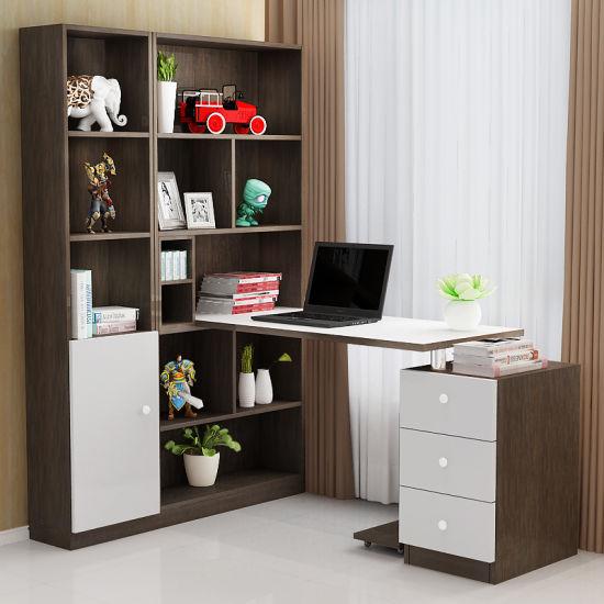 custom made office desks. Modern Customizable Office Desk Computer With Bookcase Custom Made Desks