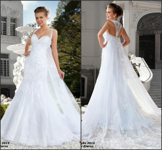 Stock New White//Ivory Lace Short Wedding Dress Bridal Gown Size 6 8 10 12 14 16