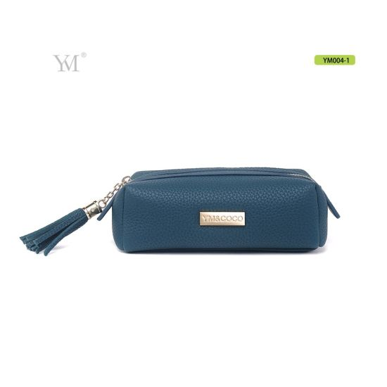 Personalized Luxury Felt Beauty Small Cosmetic Makeup Case for Daily