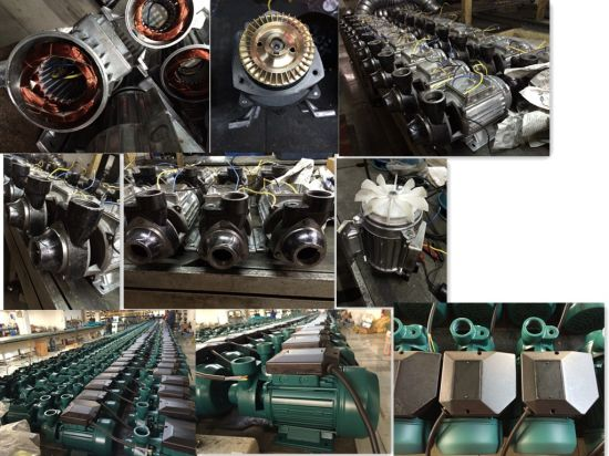 Pm45/50/60 Electric Water Pump for Celan Water Domestic Use (0.55HP/0.75HP/1HP) 1 Inch Outlet pictures & photos