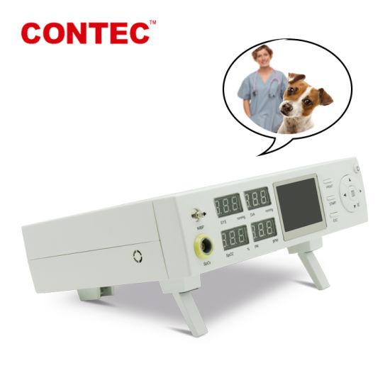 Contec Cms5000vet Veterinary Animal Hospitals Vital Sign Patient Monitor Vet Instrument