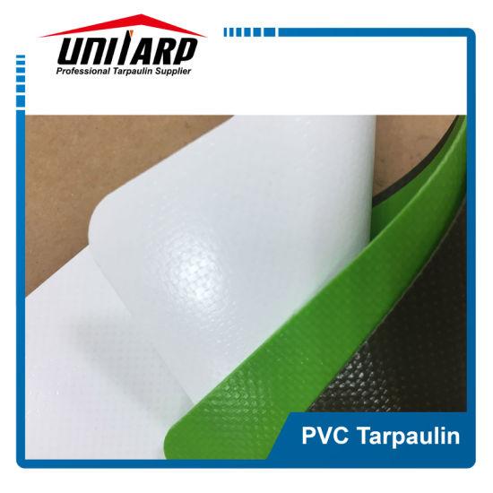 White 1000d 16*16 450GSM PVC Laminated Tarpaulin