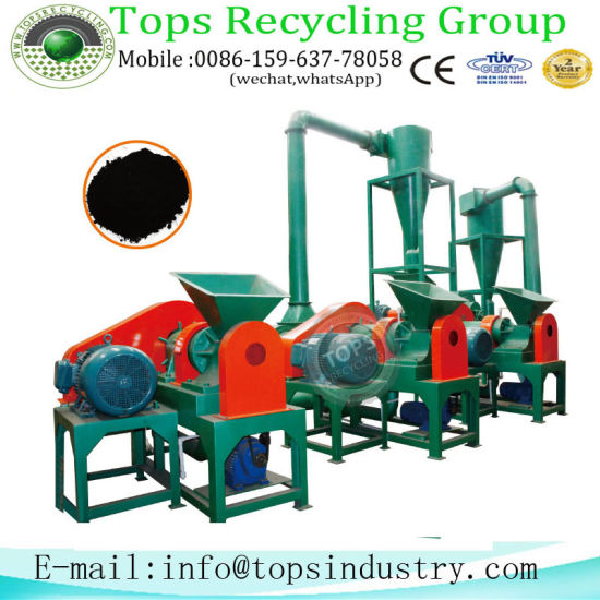 Crumb Rubber Making Machine / Waste Tire Recycling Equipment pictures & photos