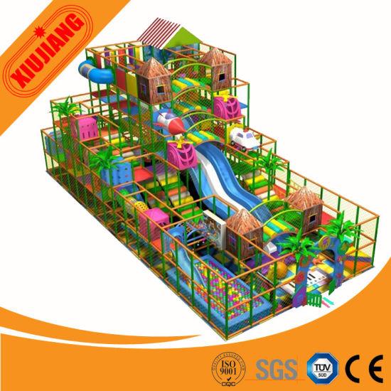 Indoor Soft Playground, Children Playground Indoor Price (XJ1001-5347)