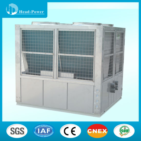 120 Kw Daikin Brand Scroll Comprssor Air Cooled Water Chiller