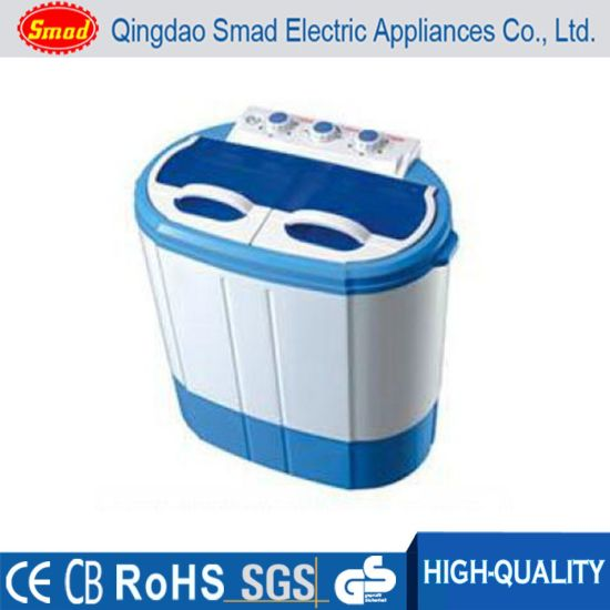 Portable Baby Clothes Mini Twin Tub Top Loading Washing Machine pictures & photos