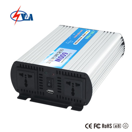 600watt Pure Sine Wave DC to AC Power Inverter for Solar Systems with New Design