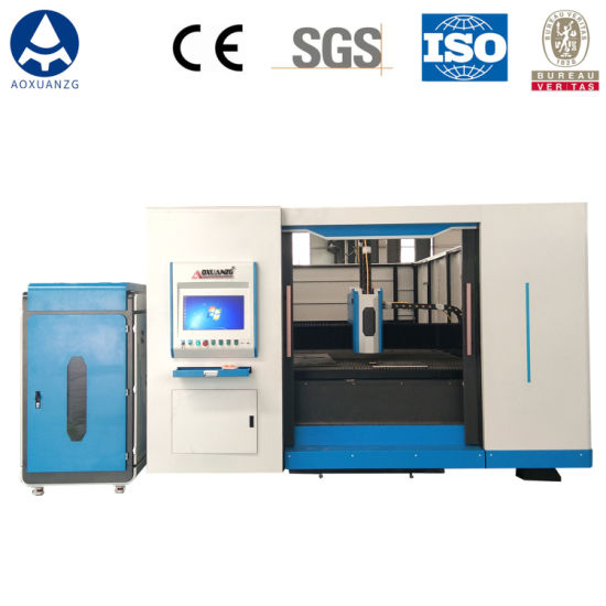 1000W Excellent Rigidity Steel Sheet Metal Fiber Laser Cutting Machine for Stainless Aluminum