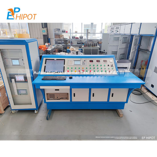 Epbz-III Automatic Transformer Comprehensive Test Bench System Transformer Testing Bed