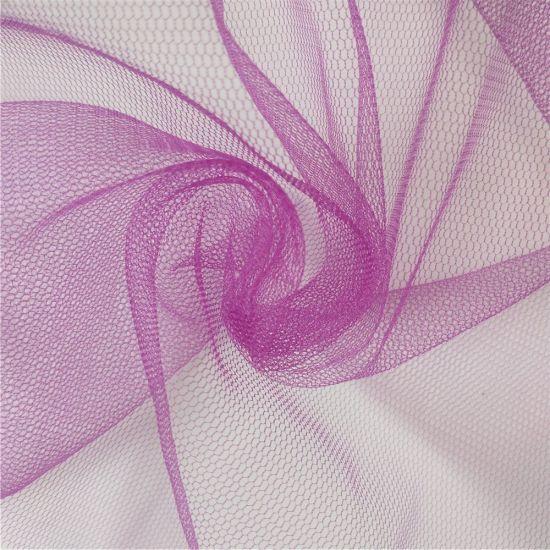 100% Nylon Sparkle Hexagon Soft Tulle Net Mesh Fabric for Tutu
