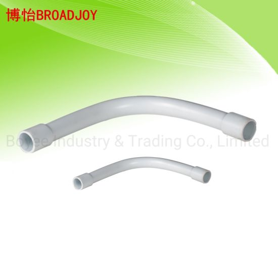 Electrical Cable Fitting PVC Long Bend pictures & photos