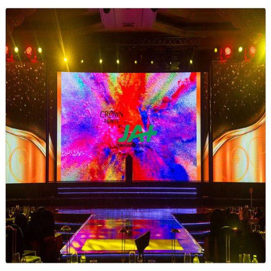 High Quality P3.91 P4.81 500*500mm Indoor Full Color LED Screen for Stage Rental