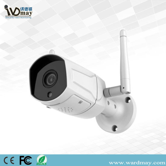 1080P White Remote View Home Security Bullet IP Camera pictures & photos