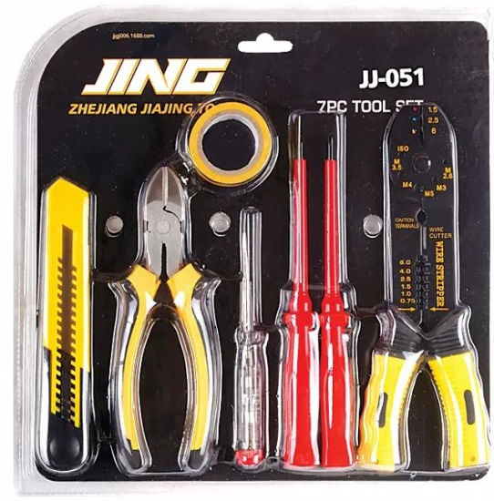 7PCS Knife Piler Screwdriver Electrician Tools/Home Use Hand Tools Kit