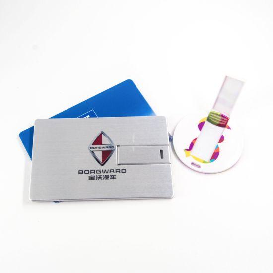Customize Logo USB Flash Drive Card USB Stick Pendrive USB Drivers Card USB